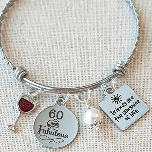 Milestone 60th Birthday Gift For Friend BIRTHDAY Her Friends Are The