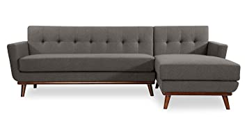 Amazoncom Kardiel Jackie Mid Century Modern Sectional Sofa Right
