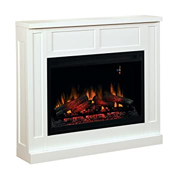 wall fireplace mantel white electric fireplace insert sold separately - Electric Fireplace With Mantel