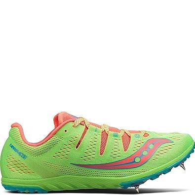 76922a22 Saucony Women's Carrera XC3 Slime/Vizi Red Athletic Shoe: Amazon.in ...
