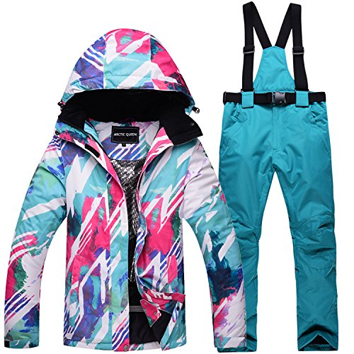 S Waterproof Pink Ski Warm Men Jacket Thickened L Coat Women Suit FYM JACKETS DYF Couple Blue wq47zZz