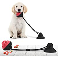 CAMTOA Dog Chew Toys for Aggressive Chewers, Suction Cup Dog Chewing Toy, Dog Rope Ball Toys with Suction Cup for Small…