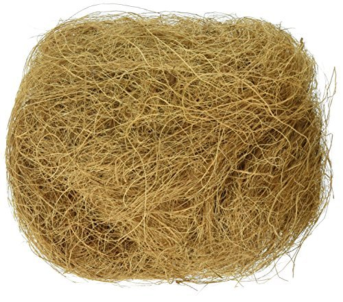 Prevue Pet Products BPV105 Sterilized Natural Coconut Fiber for Bird Nest ()
