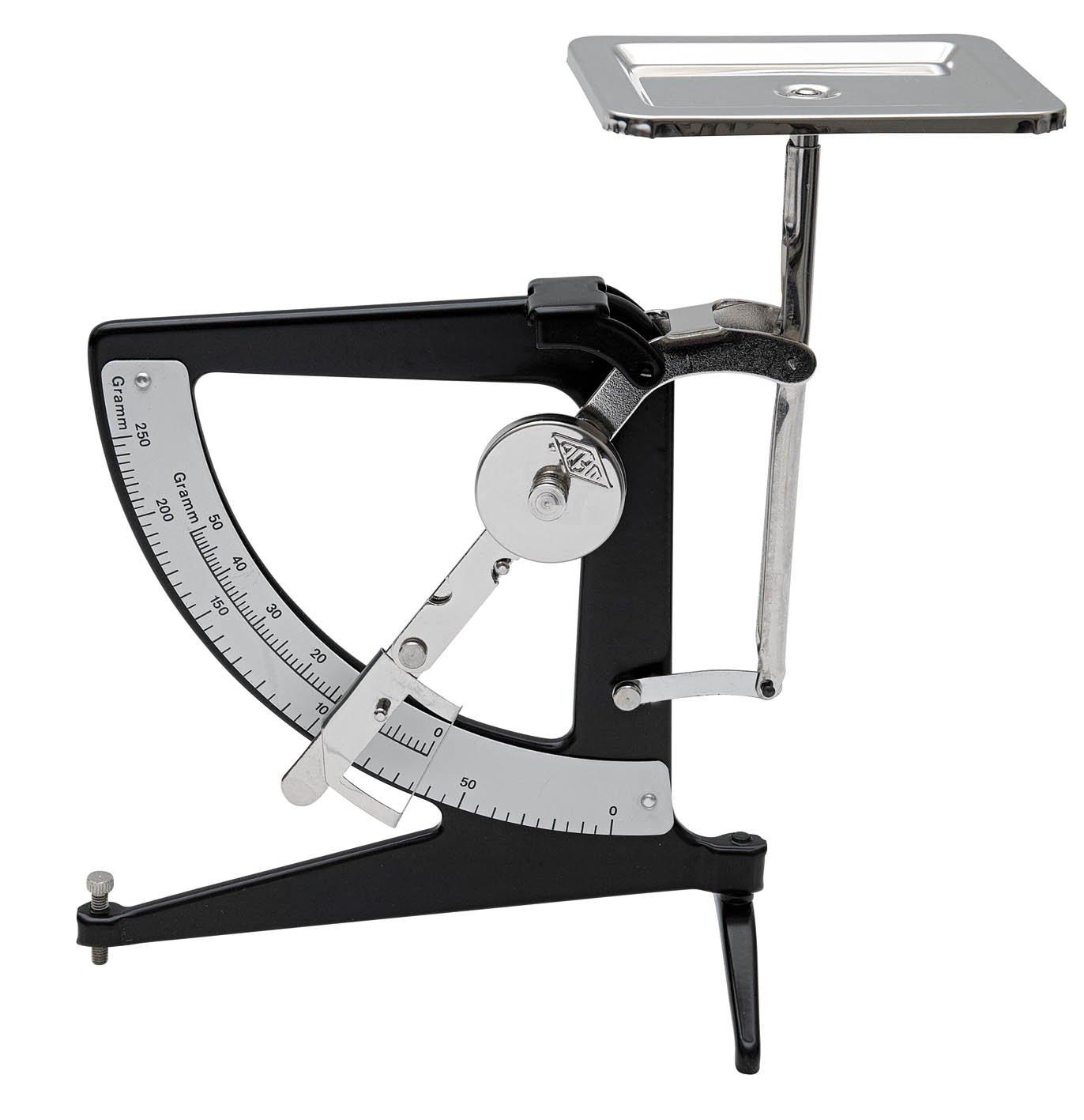 Wedo 06425001 Pendulum Scales 250 g Convertible Mechanical Black
