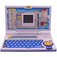Gulzar Educational English Learner Laptop with Mouse for 20 Activity Games