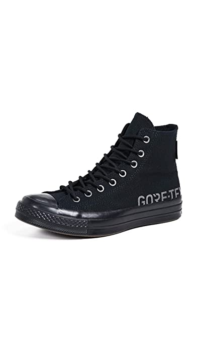 d784316e15f8c6 Converse Men s Chuck 70 Goretex Waterproof High Top Sneakers  Amazon ...