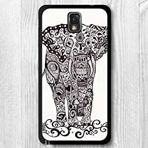 For Samsung Galaxy S5 Mini Case, Elephant Pattern Fashion Design Protective Hard Phone Cover Skin Case For Samsung Galaxy S5 Mini + Screen Protector
