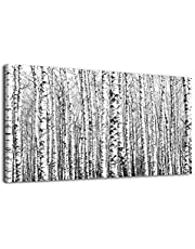 Large Green Forest Waterfall Wall Art Canvas Pictures for Home Decor and Office Wall Decoration