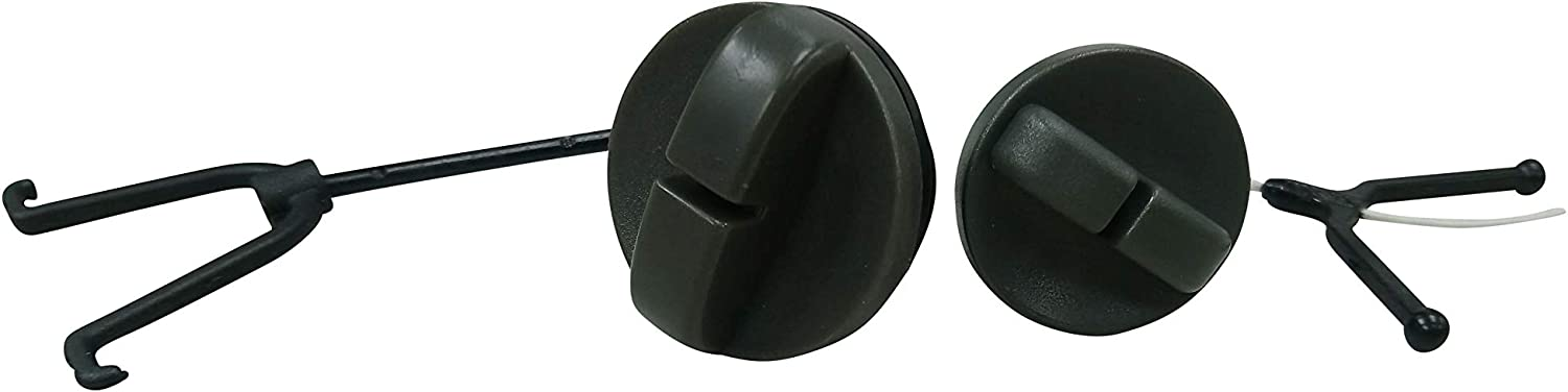 Gas Fuel Tank Cap And Oil Cap Kit For Husqvarna 266 268 272 66 61 Gas Chainsaw