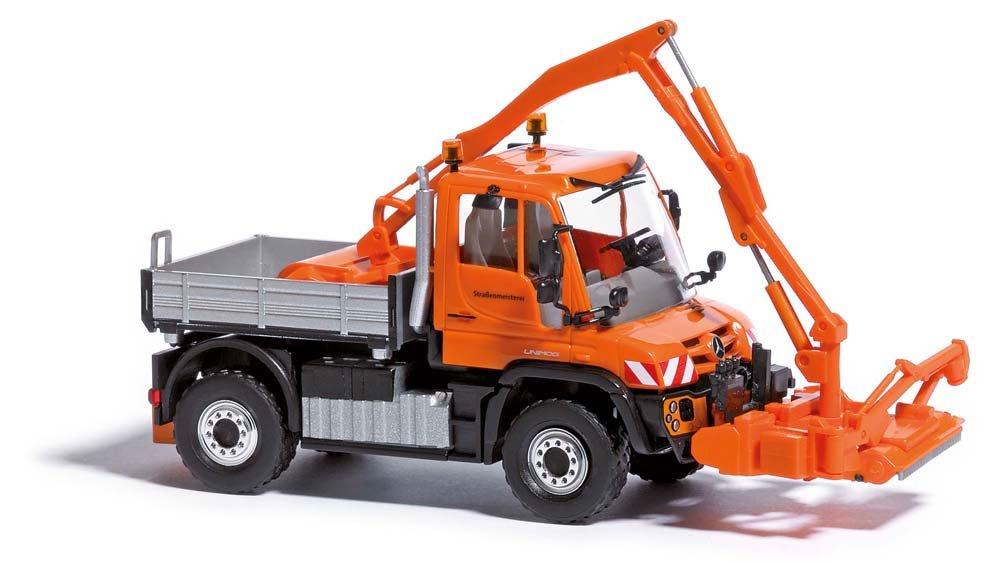 Busch 50915 MB Unimog u430 strabenmei Hoスケールモデル車   B00I6XVUWU