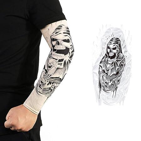 DHR Manga del tatuaje de Manga del tatuaje Brazo de la flor Sin ...