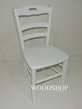 Für Woodshop Stuhl Typ Haus Sitzfläche Set Holz Massiv Weiß dCoWxBre