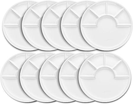 ceramica Bianco 26/cm Kela Arcade Piatto per fonduta