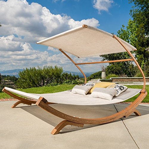 NFusion Marrakech Sunbed with Adjustable Canopy by Christ...