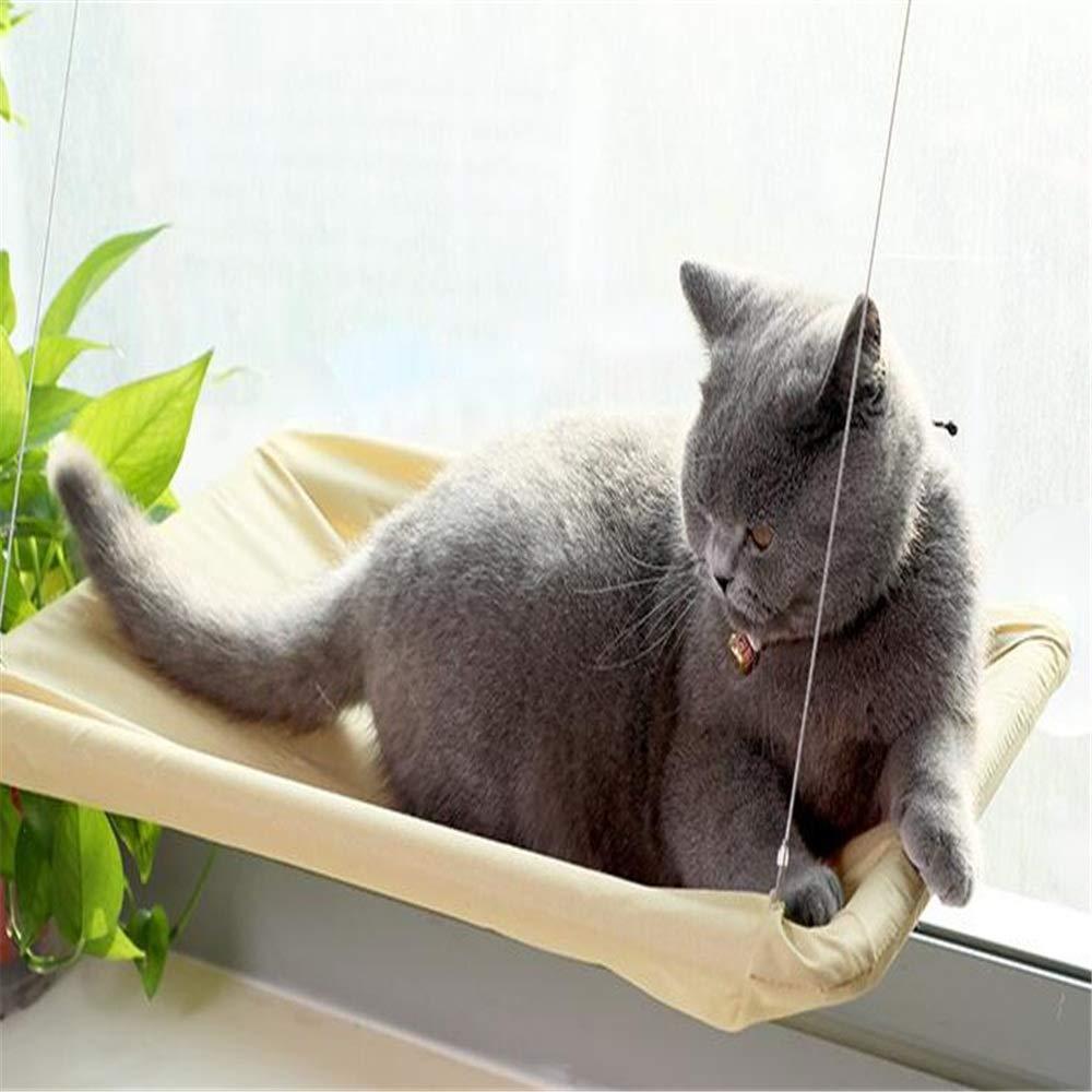Kanqingqing Árboles para Gatos Ventana Hamaca para Gatos ...