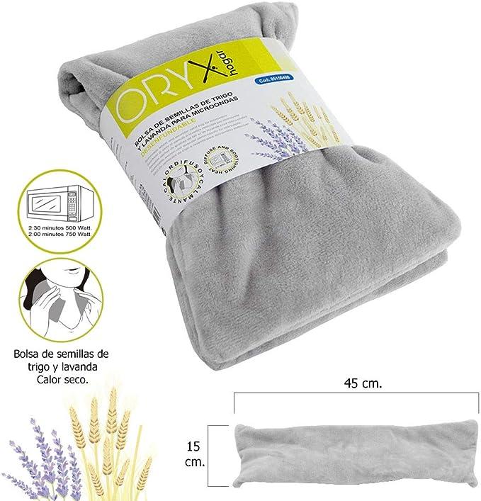 Oryx 5150490 Bolsa Semillas Calor Microondas Desenfundable, Claro ...