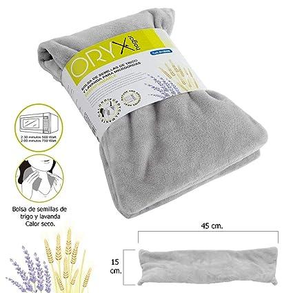 Oryx 5150490 Bolsa Semillas Calor Microondas Desenfundable, Claro