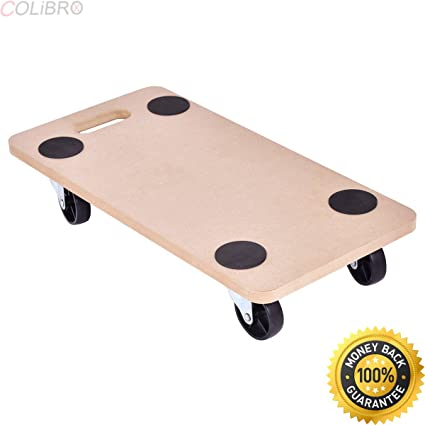 Amazon Com Colibrox 440lbs Platform Dolly Rectangle Wood Utility