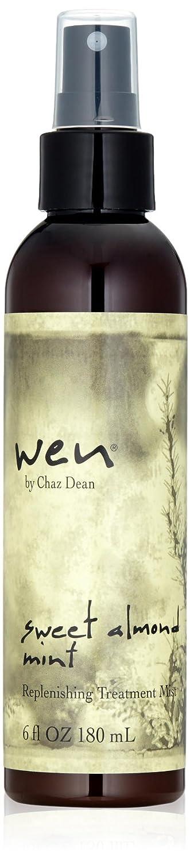 WEN by Chaz Dean Sweet Almond Mint Replenishing Treatment Mist, 6 Fl Oz