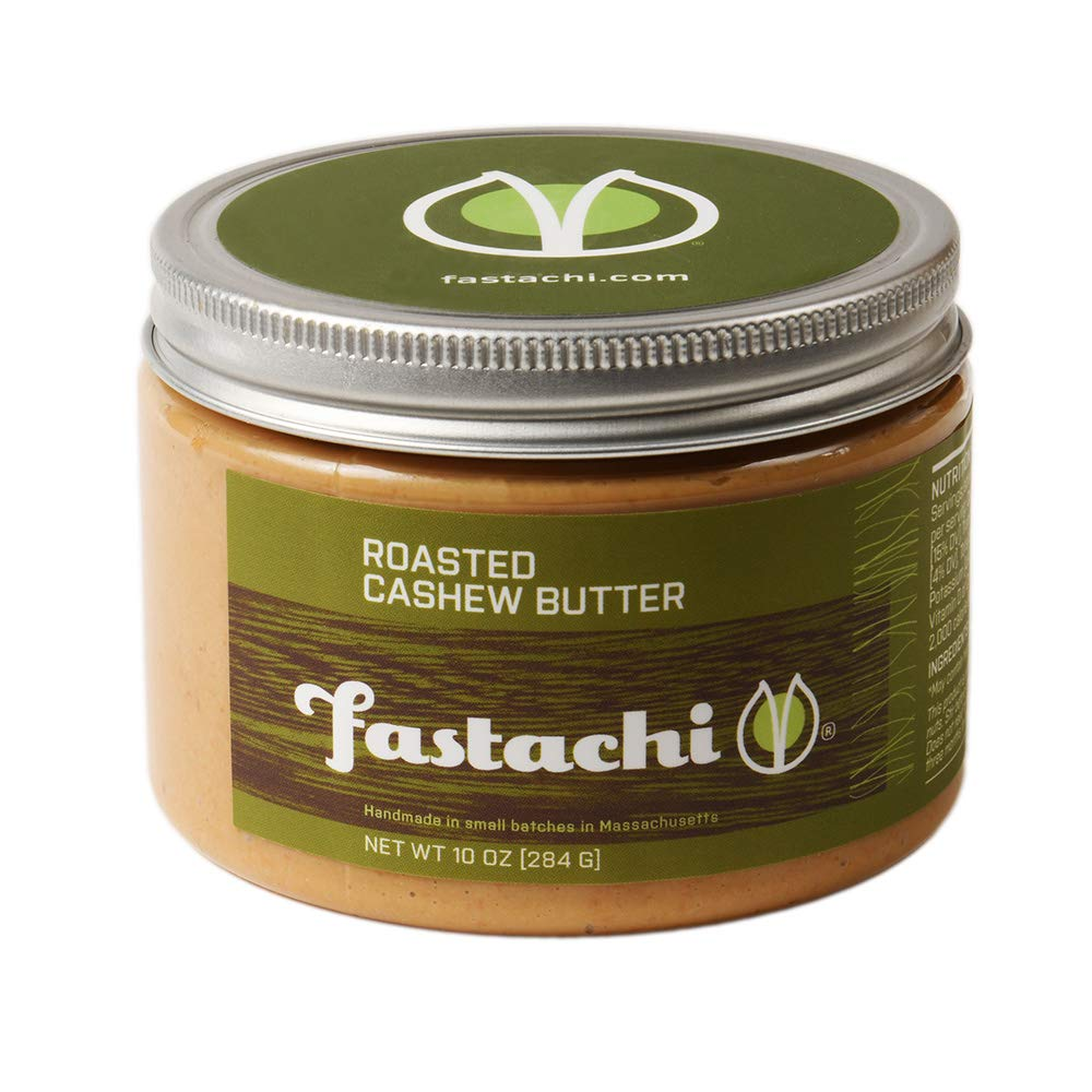 Fastachi Roasted Cashew Butter (10oz Container)
