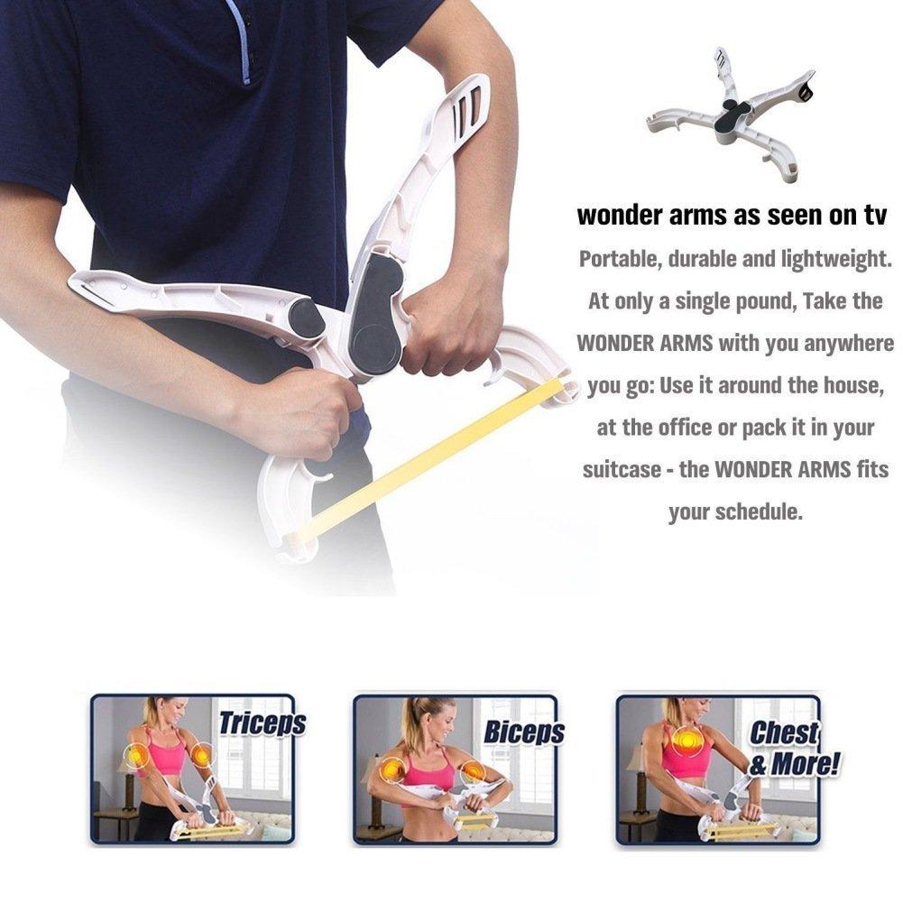 Wonder armas, EBUY brazo Fitness entrenamiento equipo superior máquina casa programa de ejercicios - Banda de Resistencia elástica y bolsillo para senos ...