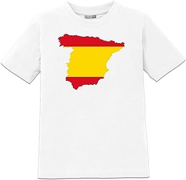 Shirtcity Camiseta de niño España Mapa by: Amazon.es: Ropa y ...