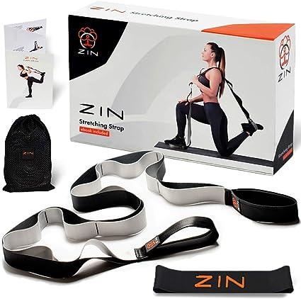 Amazon.com: Correa de estiramiento ZIN: banda de resistencia ...