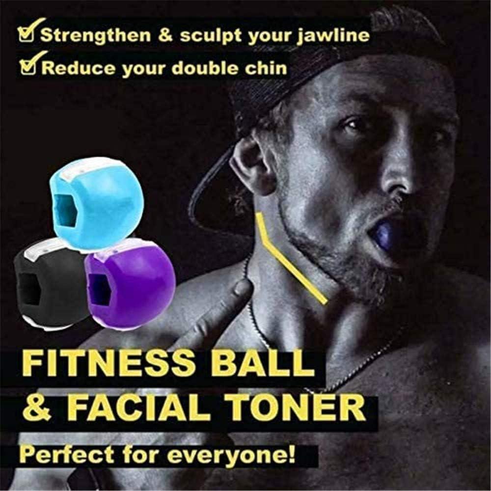 TOCYORIC Jawline Trainer, Jawline Shaper Face Slimmer,Double Chin Exerciser Ball,Jawline Ejerciser Training Fitness Ball,Doppelkinn-trainer,Exerciser ...