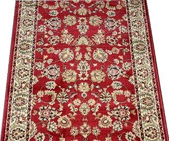dean elegant keshan claret carpet rug hallway stair runner purchase by the linear. Black Bedroom Furniture Sets. Home Design Ideas