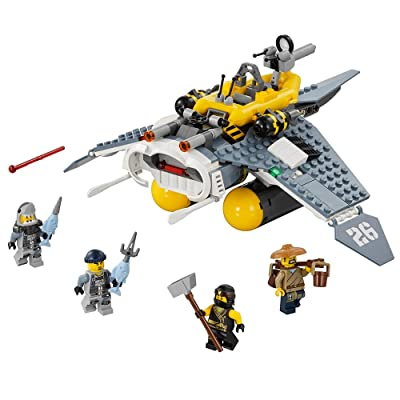 LEGO Ninjago Movie Manta Ray Bomber 70609 Building Kit (341 Piece): Toys & Games