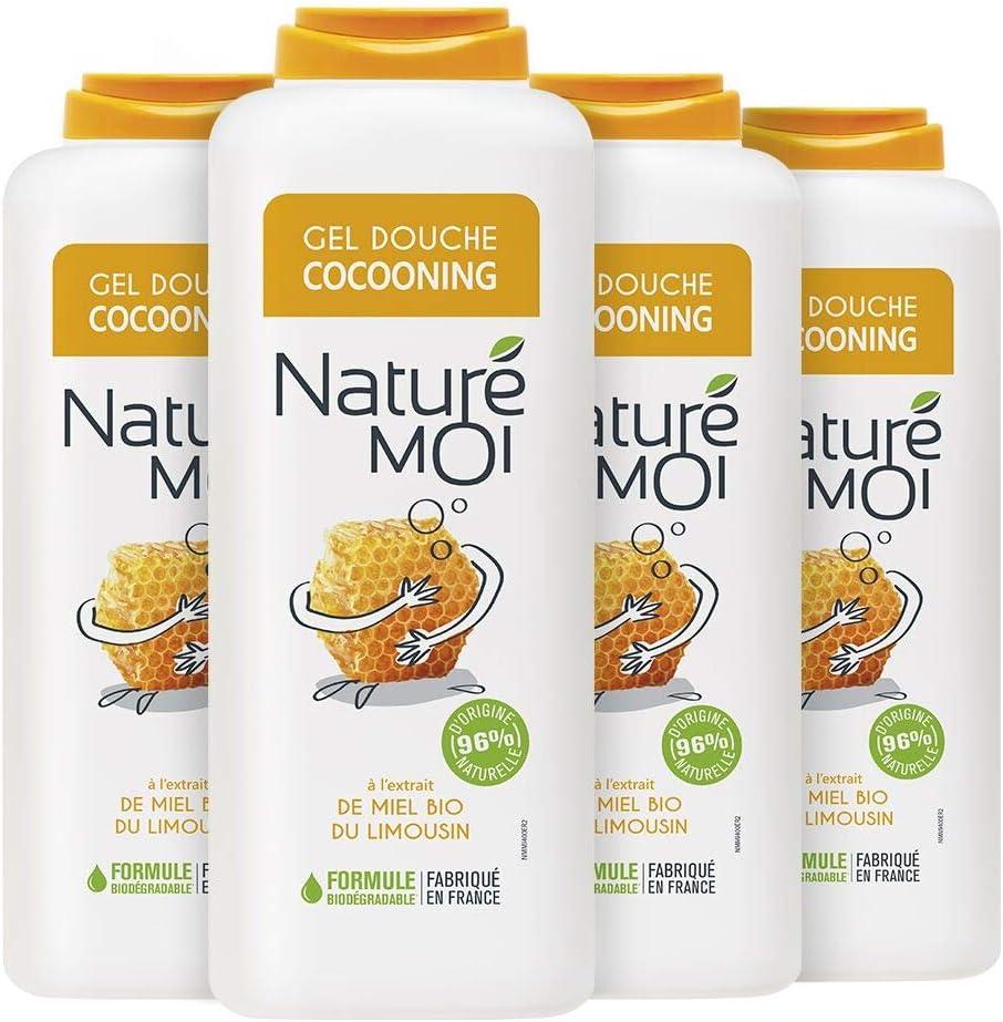 Naturé Moi NMMI400 Gel de ducha Cocooning con miel – Lote de 4 ...