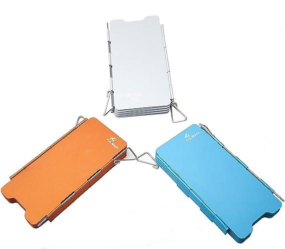 Aluminio – Paravientos calor Reflector plegable camping gas ...