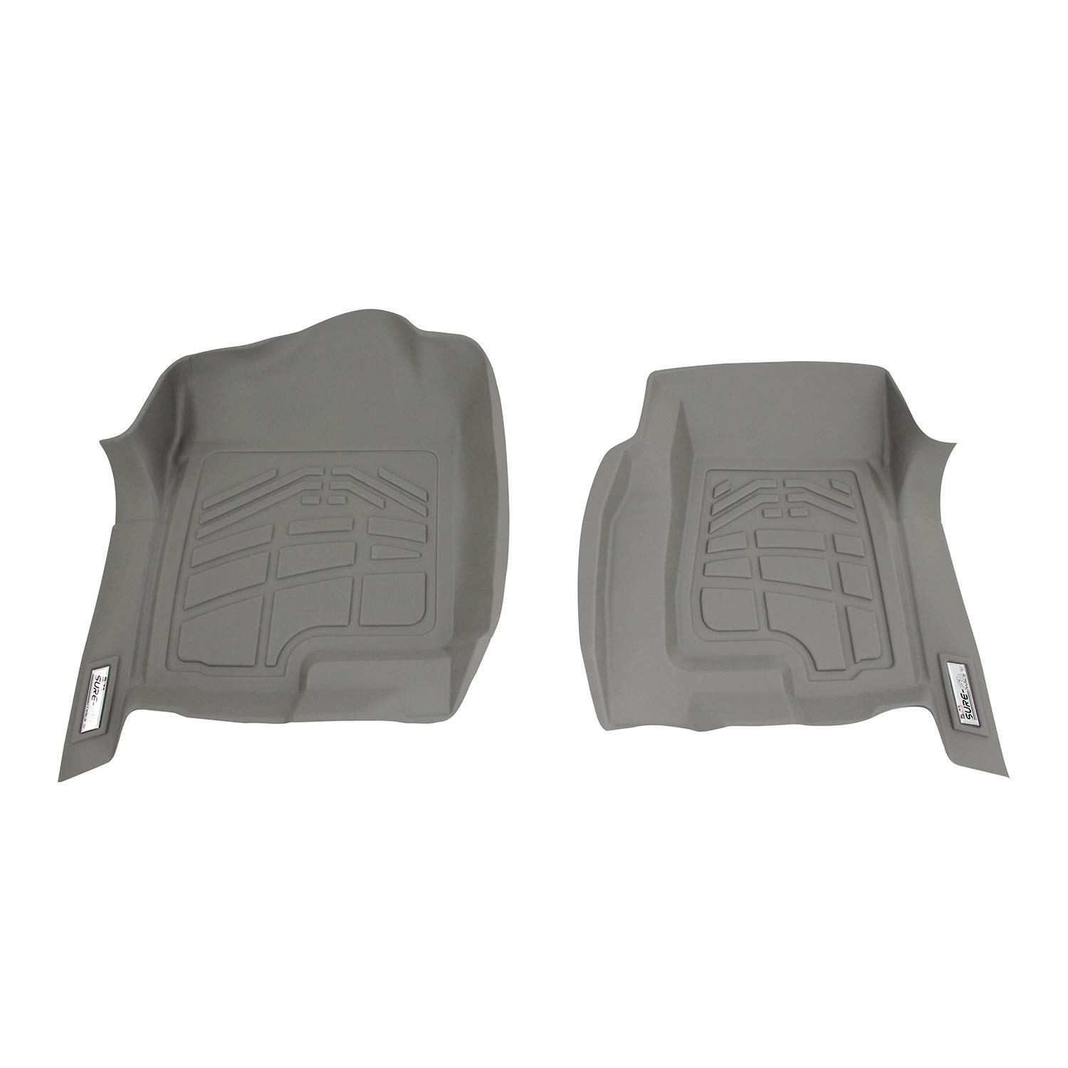 Westin 72-120030 Gray Sure-Fit Front Right And Left Molded Floor Mat Set 1 Pair