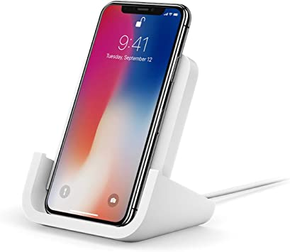 Logitech - Soporte de carga inalámbrico para iPhone 8, 8 Plus, X ...