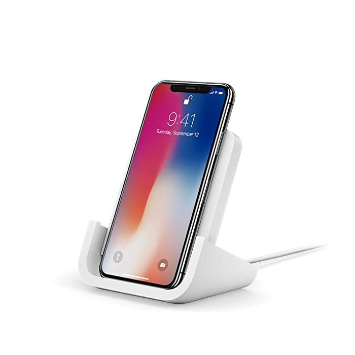Logitech Powered Wireless Charging Stand for iPhone 8, 8 Plus, X, XS, XS Max and XR