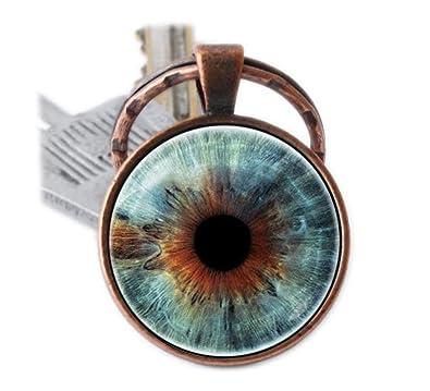 Llavero ojo Globo ocular ojo humano llavero clave cadena ...