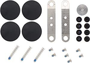 """XtremeAmazing Touchpad Trackpad Screw Kit + Bottom Case Screw Set + 4 Pcs Rubber Feet for Unibody Apple MacBook Pro A1278 A1286 A1297 A1342 13"""" 15"""" 17''"""