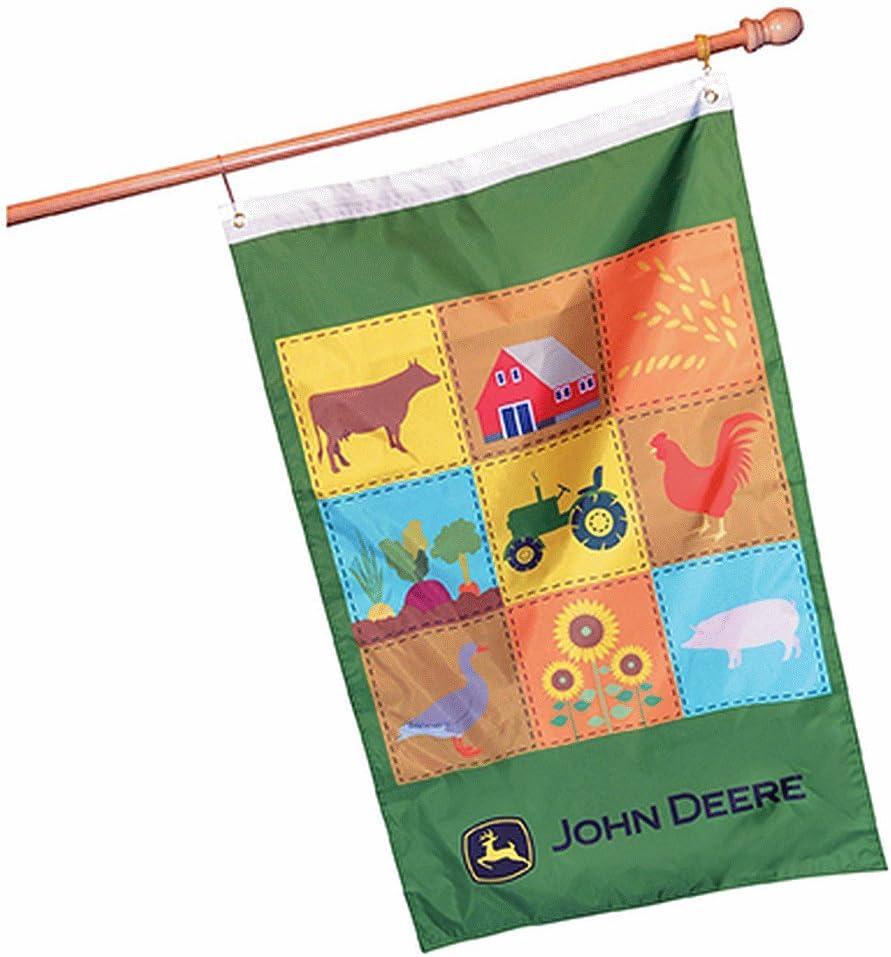 "John Deere Decorative Licensed Farm Flag 28"" x 44"""