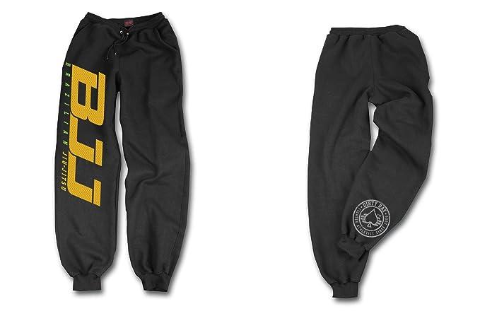 Dirty Ray Jiu-Jitsu pantalón de chándal hombre con bajo elástico ...