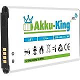 Akku-King Akku für Samsung Galaxy S5, S5 Neo, GT - i9600, i9602, i9605, SM-G901F - ersetzt EB-BG900BBE, EB-B900BE, EB-B900BK - Li-Ion 3000mAh (mit NFC)
