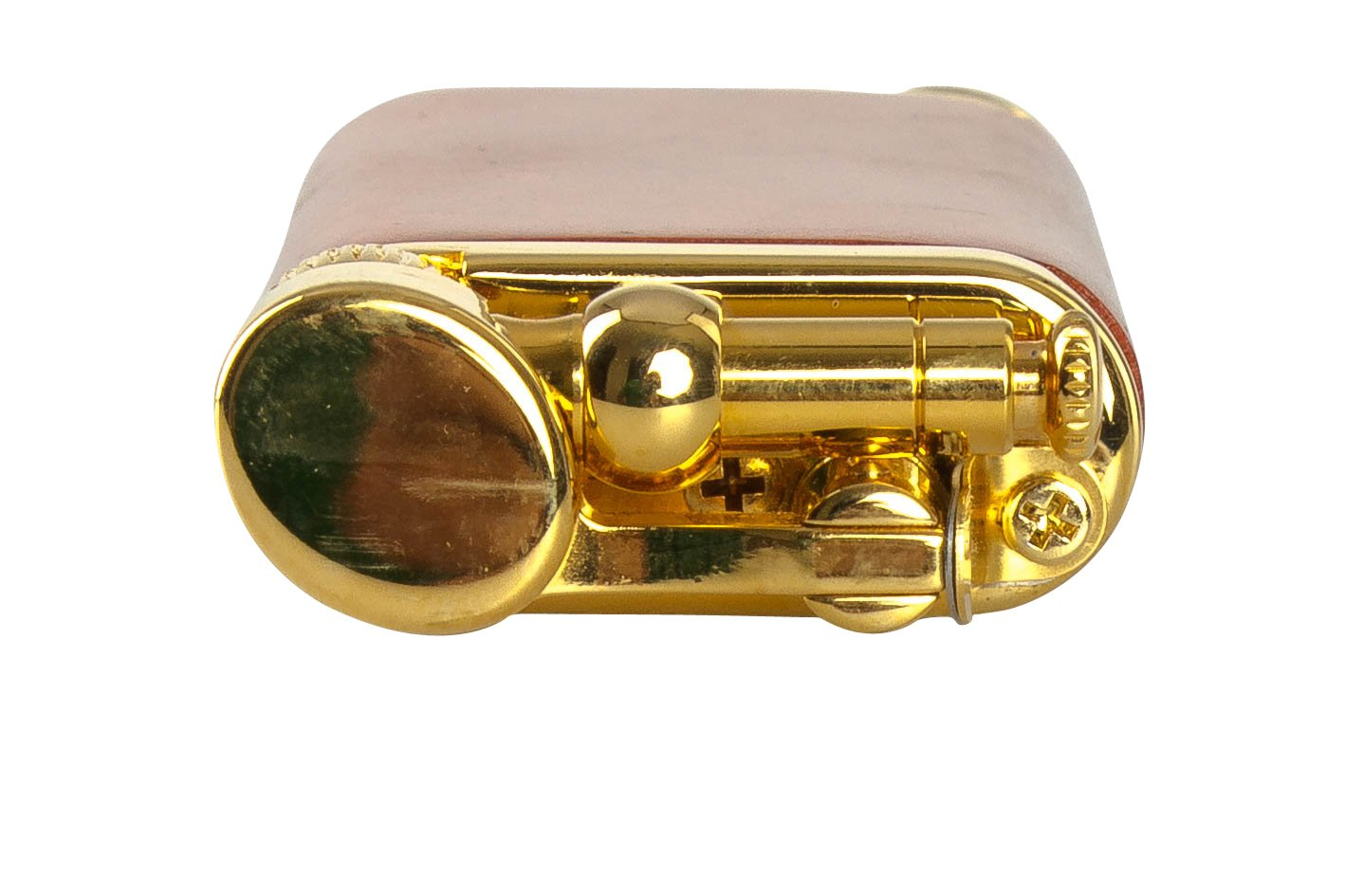 IM Corona Old Boy Gold And Natural Smooth Briar Pipe Lighter by IM Corona (Image #2)