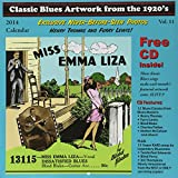 Classic Blues Artwork from the 1920's: 2014 Calendar (+ CD)