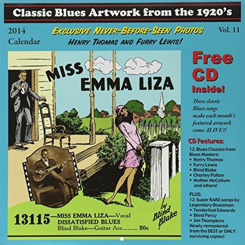 Classic Blues Artwork 1920s Calendar 2014 (Classic Blues Artwork From The 1920s Calendar)