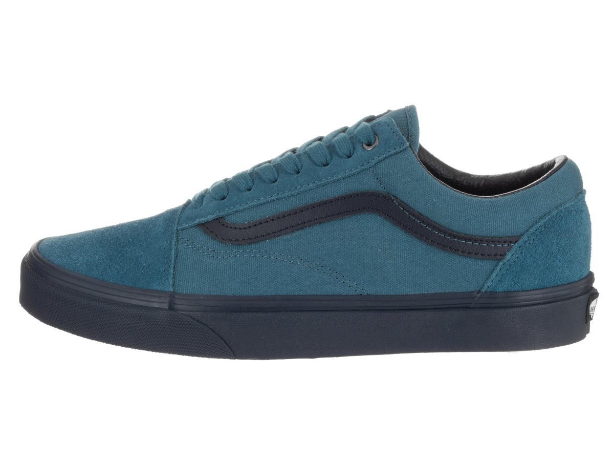 Vans Unisex Old Skool Classic Skate Shoes B01MS1KJKY 7.5 D(M) US|Blue Ashes/Parisian Night