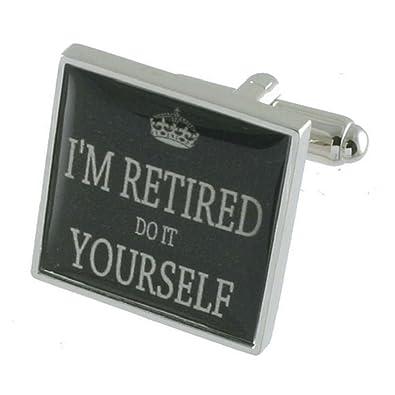 Amazon.com: Jubilado jubilación Gemelos de plata maciza 925 ...