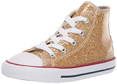 a0cda22eef98 Converse Girls Infants  Chuck Taylor All Star Sparkle High Top Sneaker