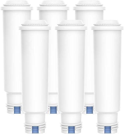 5 Wasserfilter kompatibel zu Krups Claris F088 TZ60003 AEL01 25 Reiniger-Tabs