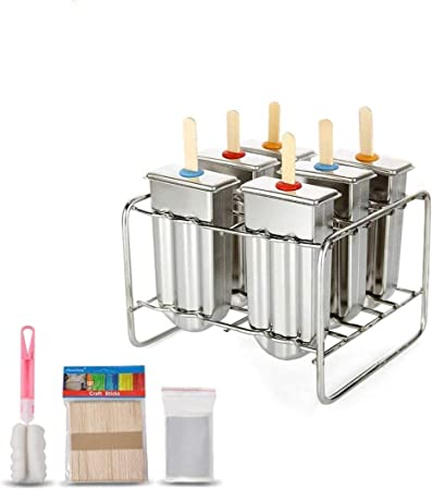 Compra Ice Lolly molde de acero inoxidable Popsicle molde de ...