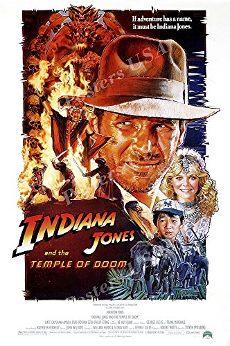 - Posters USA - Indiana Jones and the Temple of Doom Movie Poster - MOV062 (24