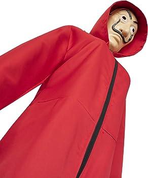 eyenjoy Dali La Casa De Papel Disfraz Rojo con Traje de Máscara ...